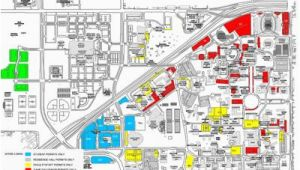 Map Of Texas Tech University Thursday Game Brings Parking Challenges News Dailytoreador Com