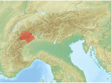 Map Of the Alps In Italy Pennine Alps Wikipedia