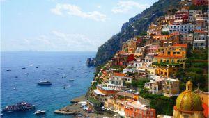 Map Of the Amalfi Coast In Italy Amalfi Coast tourist Map and Travel Information
