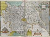Map Of the Counties In England atlas Of the Counties Of England and Wales Sponsored by T