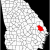 Map Of the Counties In Georgia Bulloch County Georgia Wikipedia