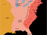 Map Of the Georgia Colony A Map Of the Eastern Half Of the United States Highlighting the
