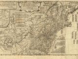 Map Of the New England Colonies 1775 to 1779 Pennsylvania Maps