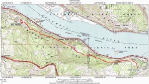 Map Of the oregon Trail Route Mosier Twin Tunnels Hike Hiking In Portland oregon and Washington
