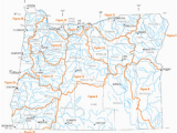 Map Of the oregon Trail with Rivers List Of Rivers Of oregon Wikipedia