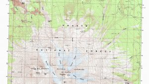 Map Of the Redwoods In California Od Gallery for Graphers Mt Shasta Map California Large Map Of the