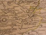 Map Of the Shires Of England Maps 19th Century