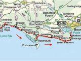Map Of the south West Coast Of England south West Coast Path Dorset Jurassic Coast