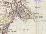 Map Of the southwest Of England torquay Geological Field Guide by Ian West