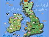 Map Of the Uk and Ireland British isles Maps Etc In 2019 Maps for Kids Irish Art Art