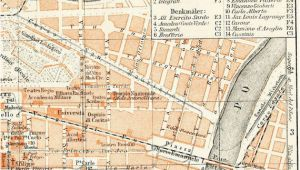 Map Of torino Italy Turin torino Italy City Map 19th Century Map Antique 1890s