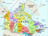 Map Of toronto Canada and Surrounding area Map Of Canada with Capital Cities and Bodies Of Water thats