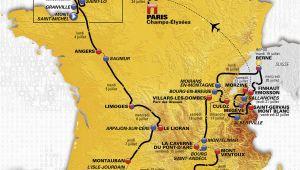 Map Of tour De France 2014 tour De France 2016 Die Strecke
