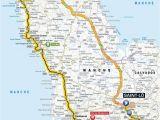 Map Of tour De France tour De France 2016 Die Strecke