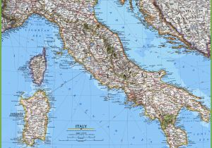 Map Of towns In Italy Large Detailed Map Of Italy with Cities and towns