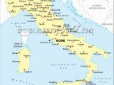 Map Of towns In Italy Map Of Cities In Italy Listed Map