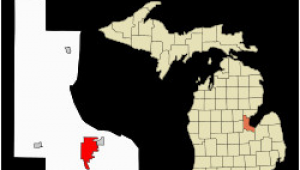 Map Of townships In Michigan Bay City Michigan Wikipedia