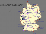 Map Of Train Routes In France Germany Rail Map and Transportation Guide