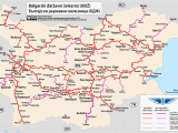 Map Of Train Routes In Spain Bulgarian State Railways Wikipedia