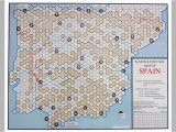 Map Of Train Routes In Spain Railway Rivals Map Sp Spain Board Game Boardgamegeek