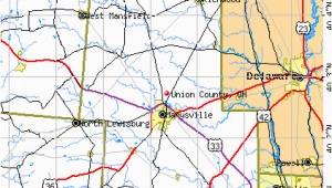 Map Of Union County Ohio Union County Ohio Detailed Profile Houses Real Estate Cost Of