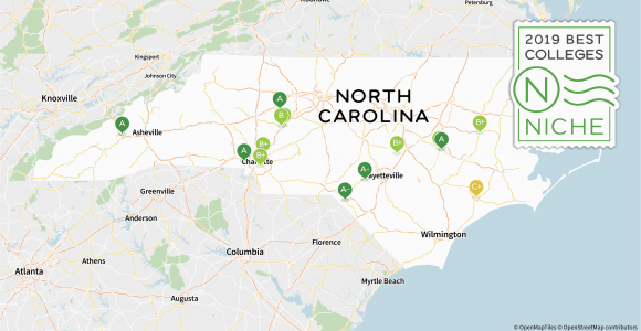 Map Of Universities In north Carolina 2019 Best Colleges In north Carolina Niche