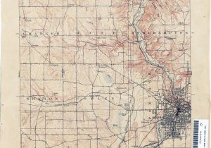Map Of Universities In Ohio Ohio Historical topographic Maps Perry Castaa Eda Map Collection