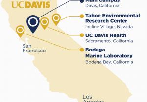Map Of University Of California Campuses About Uc Davis Uc Davis