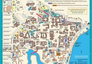 Map Of University Of California Campuses Ucsb Campus Map Actual Bucketlist Pinterest Campus Map