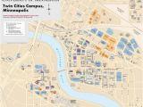 Map Of University Of Minnesota Twin Cities Campus 22 Simple Minnesota Campus Map Afputra Com