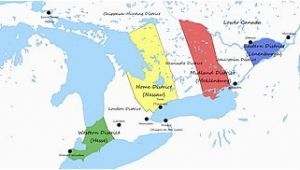 Map Of Upper and Lower Canada Upper Canada Wikipedia