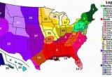 Map Of Usa and Europe Us Cultural Regions Maps United States Map United