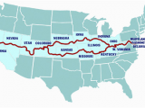 Map Of Utah and Colorado Possible Route to Go Through West Virginia Kentucky Missouri