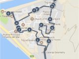 Map Of Venice Italy Cruise Port Exploring Kotor Montenegro Old town Walled City Walking tour Map