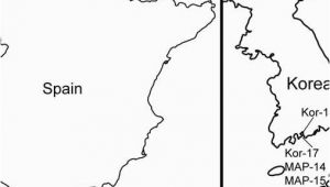 Map Of Vigo Spain Map Showing Collecting Localities In A Spain with the Vigo and