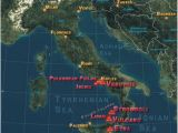 Map Of Volcanoes In Italy Pin by Annette Schiro On Italy