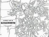 Map Of Warwick England Map Of Kenilworth Warwickshire England Genealogy Coventry