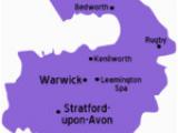 Map Of Warwick England Warwickshire Travel Guide at Wikivoyage
