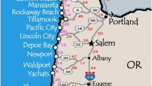 Map Of Washington Coast to oregon Coast oregon Washington Coast Map Secretmuseum