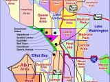 Map Of Washington State and oregon Map Of Seattle Washington Neighborhoods Many Of Our Neighborhoods
