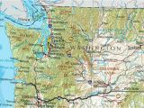 Map Of Washington State and oregon Wa State Washington