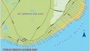 Map Of Waycross Georgia 7 Best Saint Simons island Maps Images island Map Saint Simon