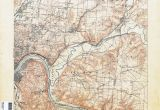 Map Of West Chester Ohio Ohio Historical topographic Maps Perry Castaa Eda Map Collection