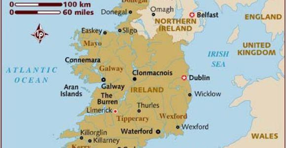 Map Of West Coast Of Ireland Map Of Ireland