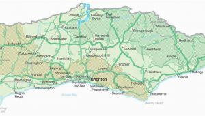 Map Of West Sussex England Map Of Sussex Visit south East England