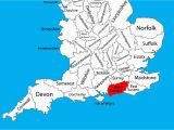 Map Of West Sussex England Map Of Uk Showing Counties Best Of Maps Of West Sus West Sus County