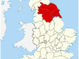 Map Of West Yorkshire England Yorkshire Wikipedia