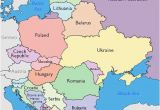 Map Of Western and Eastern Europe Maps Of Eastern European Countries