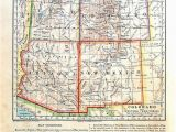 Map Of Western Colorado Map Of Colorado and Western Territories United States State Map