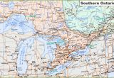 Map Of Western Ontario Canada Map Of southern Ontario